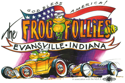 28th Frog Follies Artwork