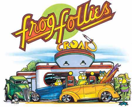 31st Frog Follies Artwork